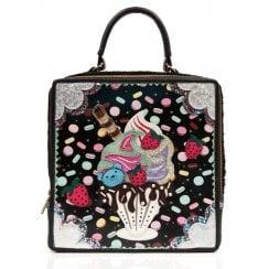 Irregular Choice Sundae Funday Handbag - Black
