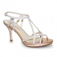 Lunar Darcie Glitz Heel Sandals - Gold