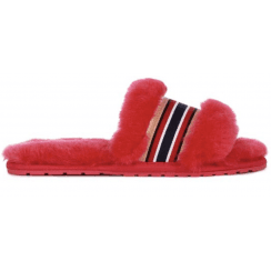 EMU Wrenlette - Fuschia Pink Slider Slippers