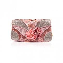Irregular Choice - Peach Melba Clutch - Pink Bag