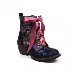Irregular Choice - Quick Getaway Boots - Blue