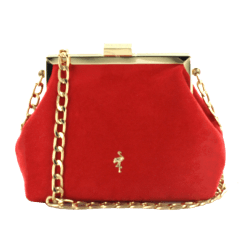 Menbur Lusaka Red Occasions Clutch Bag
