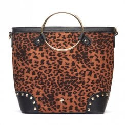 Menbur Regina Animal Print Handbag
