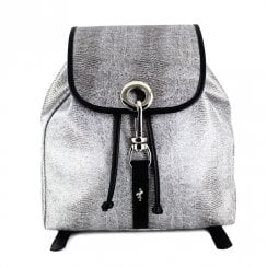 Menbur Stiago Silver Metallic Bagpack