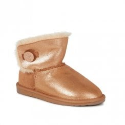 EMU Denman Mini Sheepskin Waterproof Boots - Rose Gold