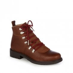 EMU Dongara Hiking Waterproof Leather Boots - Brown Oak