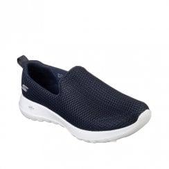 Skechers Womens GOwalk Joy Comfort Slip On Sneakers - Navy