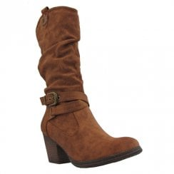 Escape Womens Flinflon Long Heeled Boots
