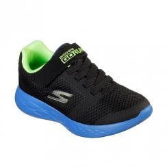 Skechers Boy's GOrun 600 Roxlo Trainers - Black Lime
