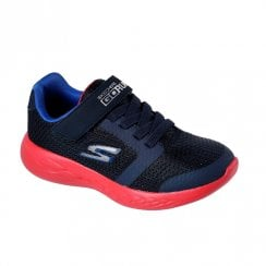 Skechers Boy's GOrun 600 Roxlo Trainers - Navy Red