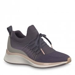 Tamaris Womens Purple Mittle Sneakers