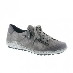 Remonte R1402 Ladies Flat Sneakers Shoes - Grey