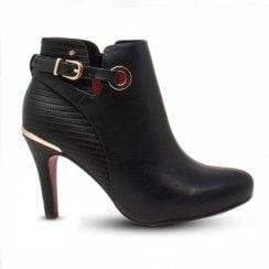 Kate Appleby Alport High Heeled Ankle Boots - Black