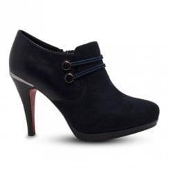 Kate Appleby Kenley High Heeled Ankle Boots - Navy