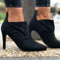 Anne Michelle Frill Top Bootie