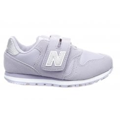 New Balance Girls 373 Velcro Sneakers - Lilac
