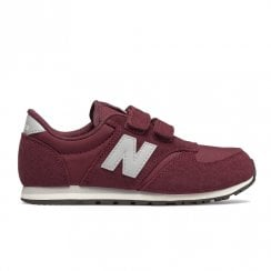 New Balance Kids 420 Velcro Sneakers - Burgundy