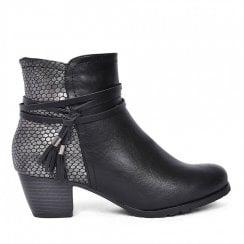Redz Side Tassel Ankle Boot