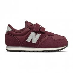New Balance Infant Hook and Loop 420 Sneakers - Burgundy