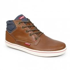 Levi's Junior Boys DCL049 Portland Padded Boots - Tan