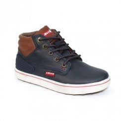 Levi's Boys DCL049 Portland Padded Boots - Navy