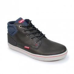 Levi's Junior Boys DCL049 Portland Padded Boots - Dark Grey