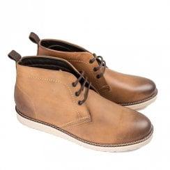 Ikon Eddie Men's Chukka Lace Up Boots - Tan