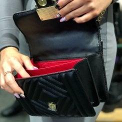 Kate Appleby Ladies Crossbody Stirling Bag - Black