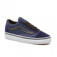 Vans Kids Old Skool Shoes - Navy/Black