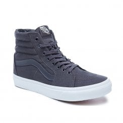 Vans Mens Mono Canvas Sk8-Hi Top Trainers - Grey