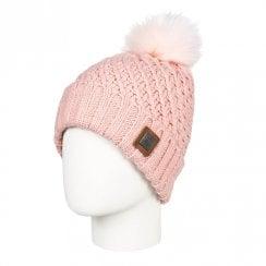 Roxy Women's Blizzard Pom-Pom Beanie Knit Hat - Coral