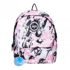 Hype Pink Brushed Pom Pom 18 L Backpack