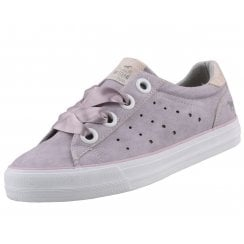 Mustang Silk Lace Sneakers - Lilac