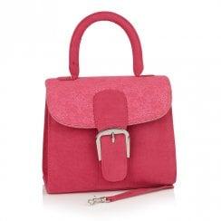 Ruby Shoo Riva Rigid Handle Clutch Bag - Pink Fuchsia