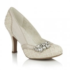 Ruby Shoo Fabia Elegant Occasion High Heel Shoes - Light Pink