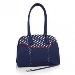Ruby Shoo Montpellier Clutch Handbag - Blue