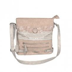 Rieker Cross Body Shoulder Strap Medium Bag - Rose H1346-31