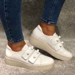 Wonders A-8321 Double Strap Sneaker