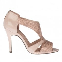 Kate Appleby Royal Lady Heeled Sandals - Blush Sparkle