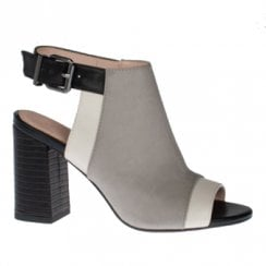 Kate Appleby Oxfordshire Block Heeled Ankle Strap Sandals - Dove Grey