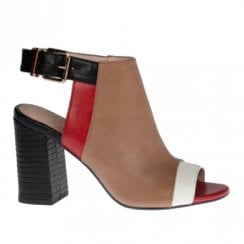 Kate Appleby Oxfordshire Block Heeled Ankle Strap Sandals - Fudge Red