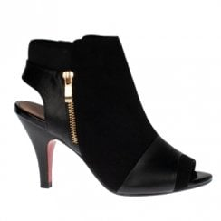 Kate Appleby Tiverton Heeled Bootie Sandals - Black