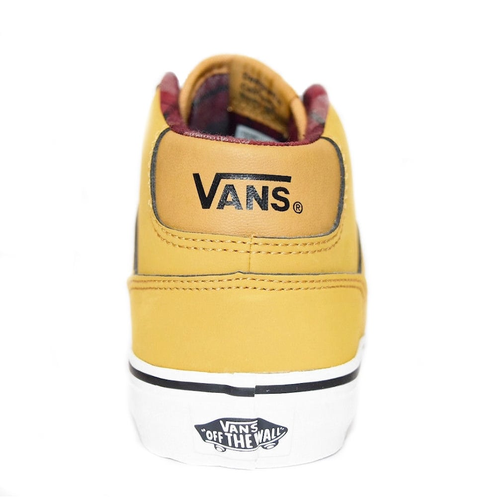 707244b885 Vans Chapman Mid Waxed Junior Shoes - Yellow- VN0A2XSSK76