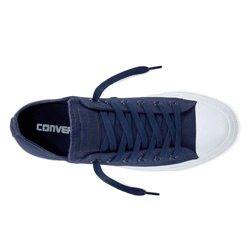 fda5e468d9592f ... Converse Womens Platinum Midsoles Ox Navy Lace Up Sneakers ...