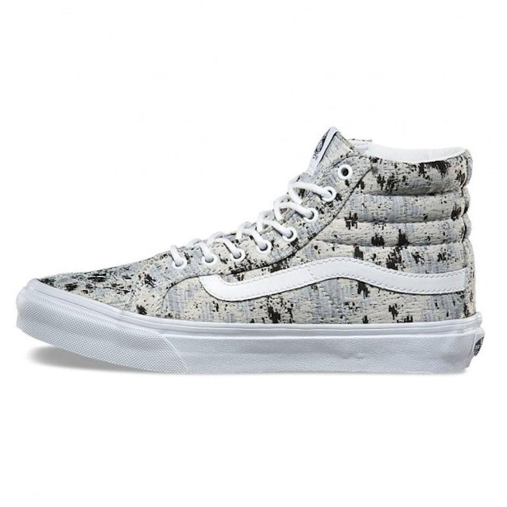 Vans Womens Sk8-Hi Slim Italian Weave Skate Shoe -VA32R2OEA ddfb3cd10
