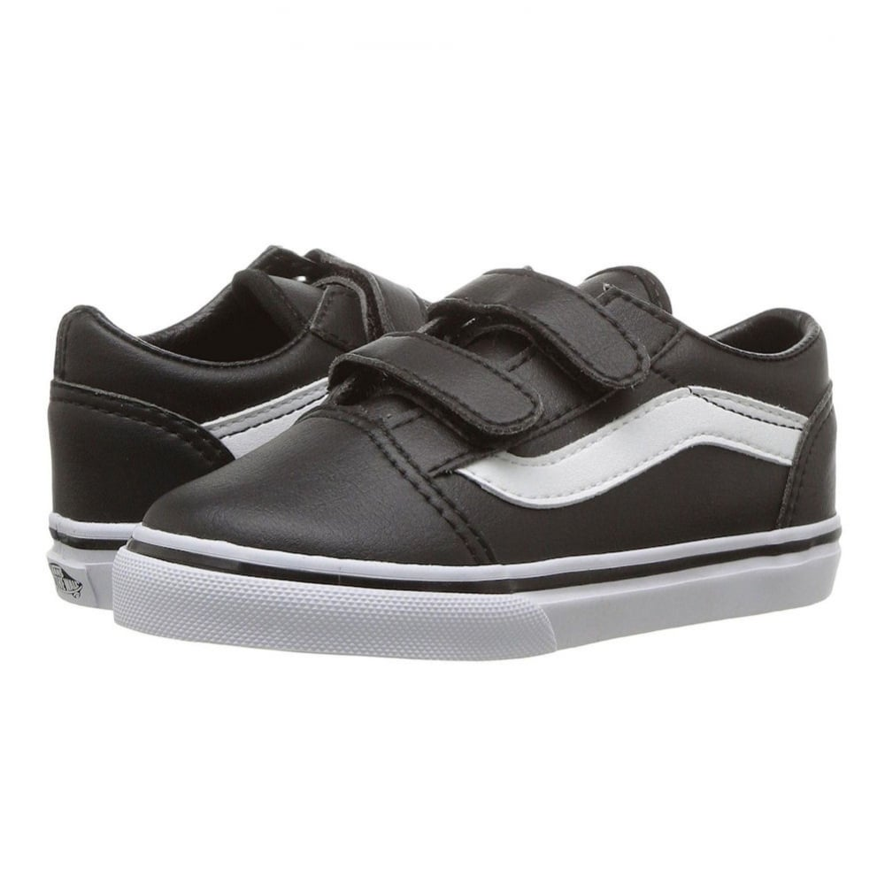 Vans Kids Old Skool V Classic Tumble Leather Shoes VA38JNNQR 2f6e77c70