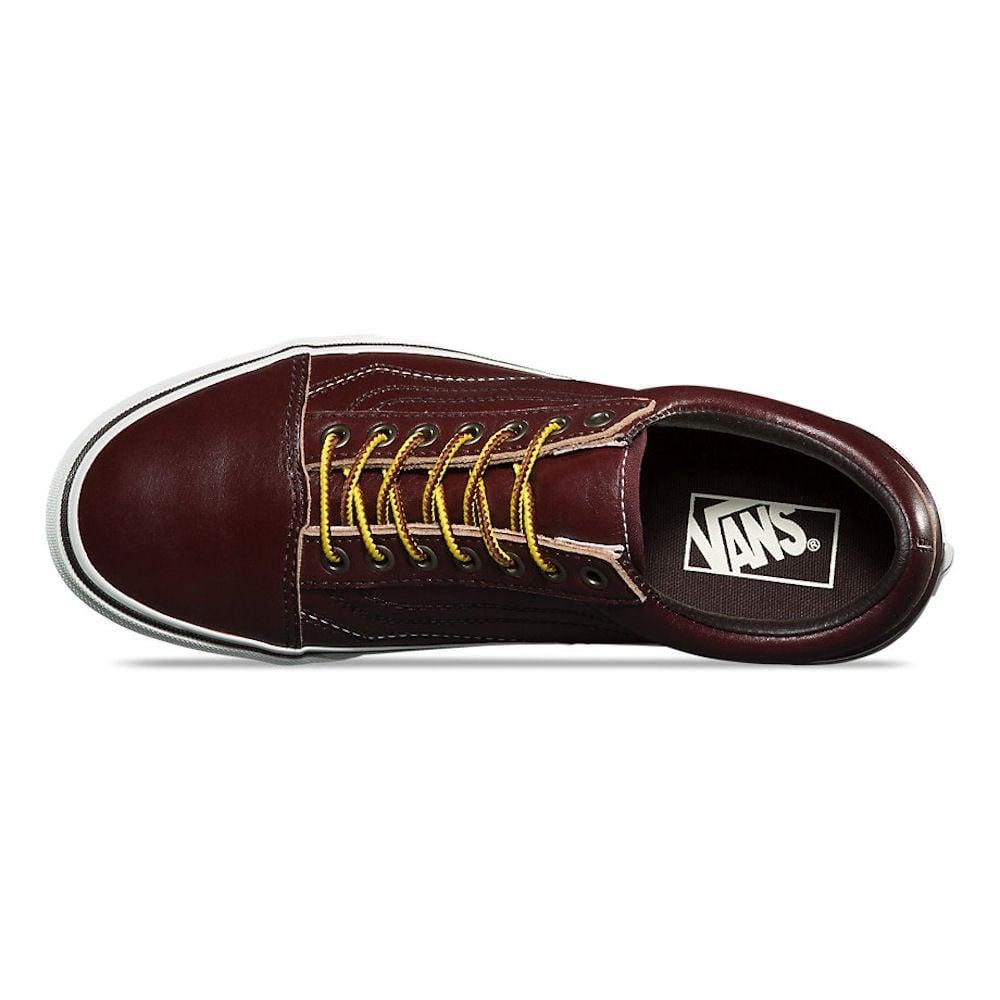 63b836df236db6 Vans Burgundy Ground Breakers Old Skool Skate Shoe