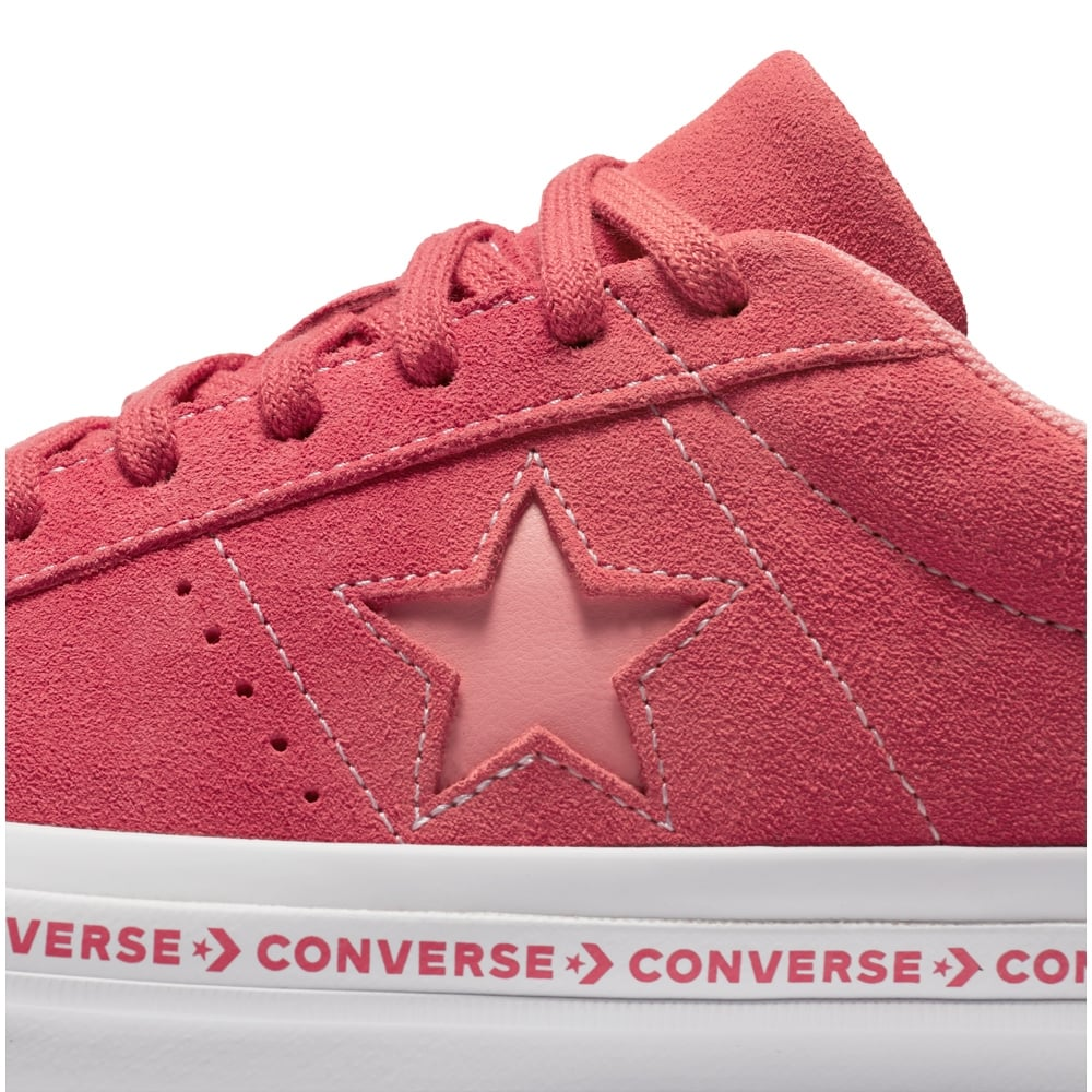 6642396aaca539 ... Converse Women s One Star Pinstripe Trainers - ...