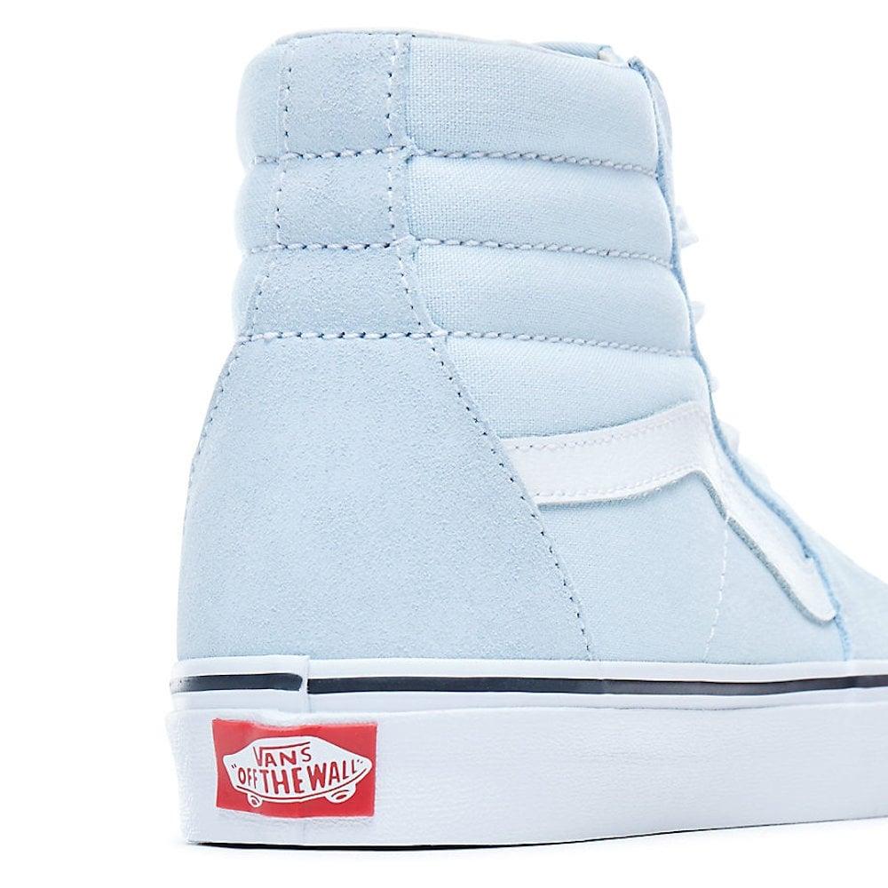 13ac26ef23e23a Vans Womens SK8-HI Baby Blue Hi Top Suede VA38GEQ6K   Millars Shoe Store