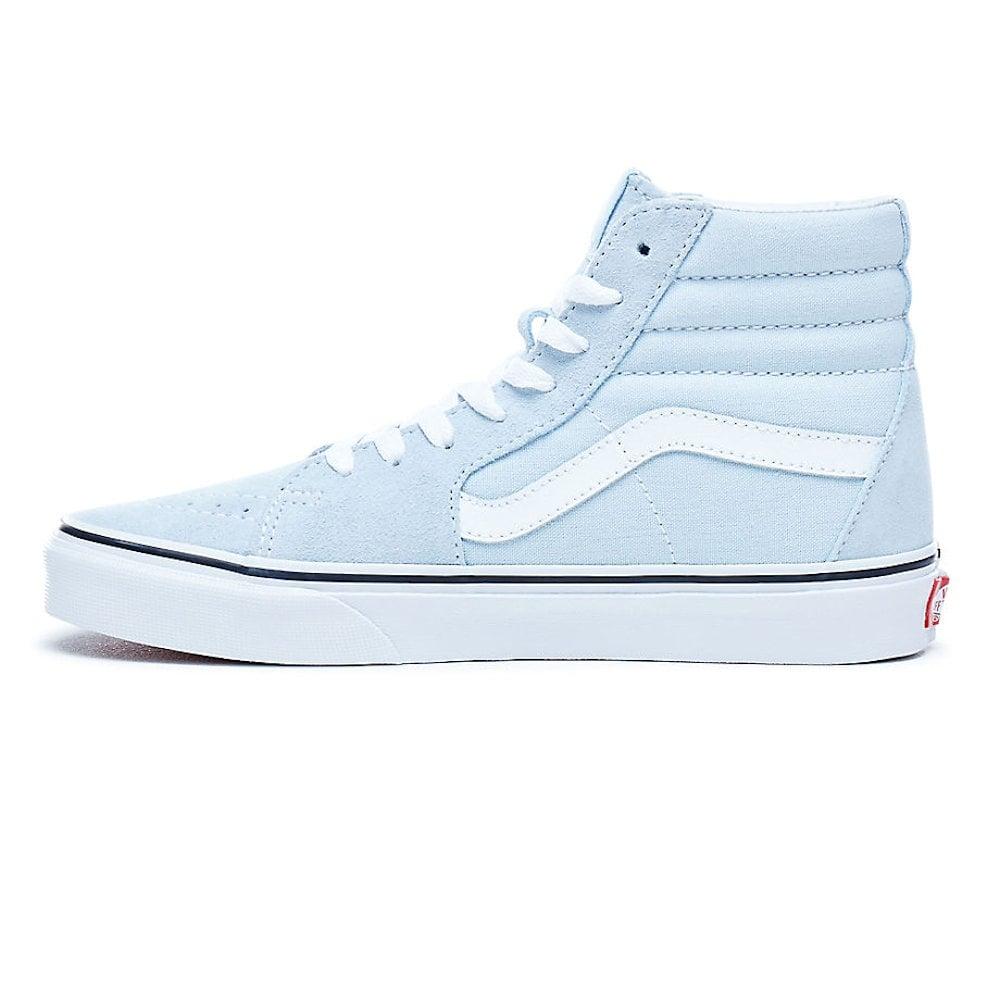 Vans Womens SK8-HI Baby Blue Hi Top Suede VA38GEQ6K   Millars Shoe Store ac4ae001b